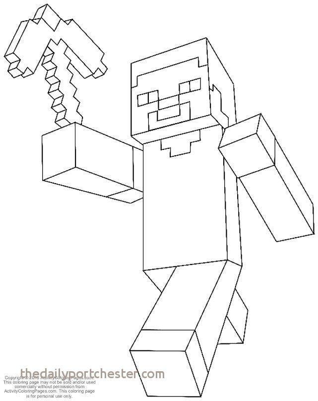 Ausmalbilder Minecraft Frisch Elegant Minecraft Creepers Coloring Pages Nocn Sammlung