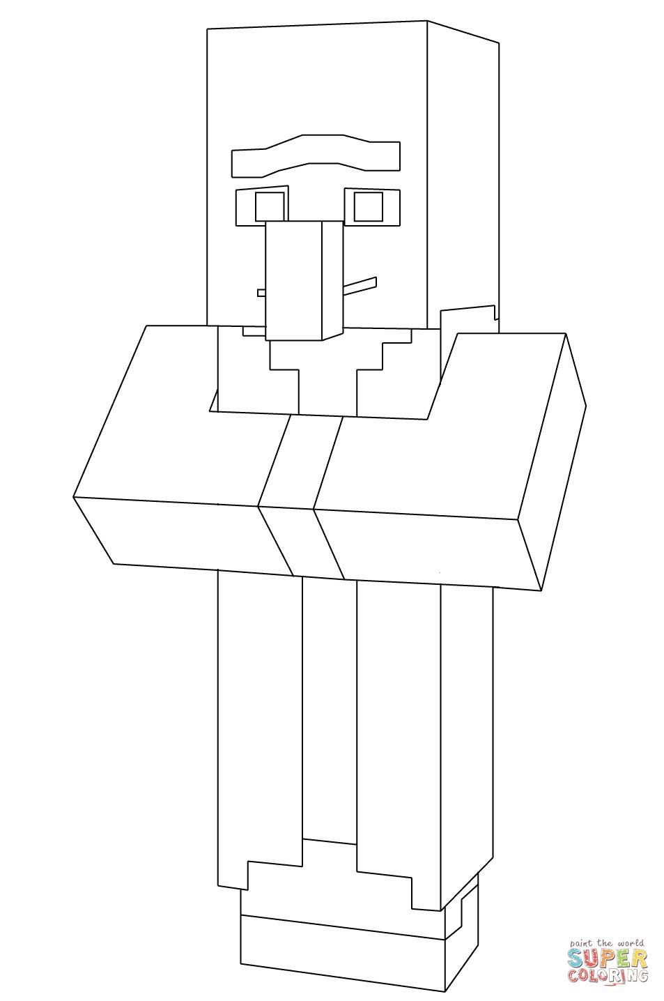 Ausmalbilder Minecraft Neu Bilder Zum Ausmalen Von Minecraft Stock