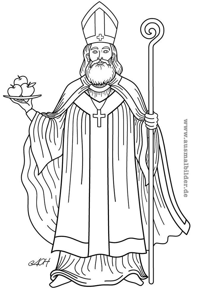 Ausmalbilder Nikolaus Das Beste Von Azachara Azachara7616 On Pinterest Das Bild