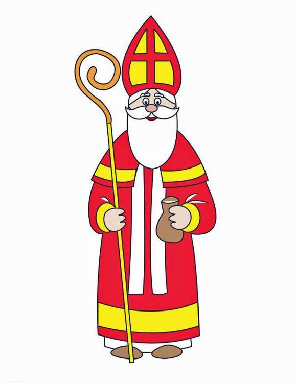 Ausmalbilder Nikolaus Frisch Bischof Nikolaus … Nikolaus Bild