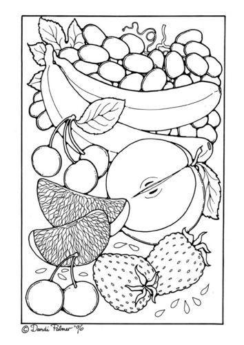 Ausmalbilder Obst Inspirierend Färbung Seite Obst 2049 Fruits and Ve Ables Bild