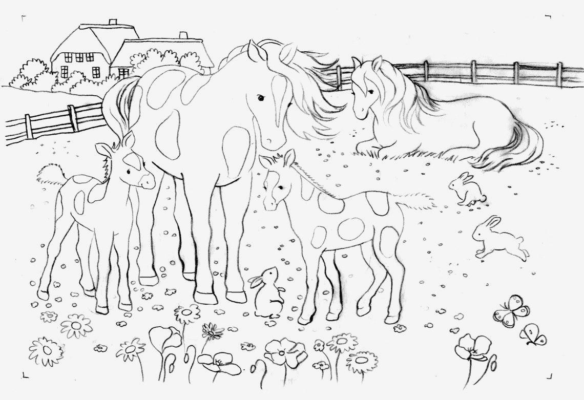 Ausmalbilder Pferde Neu 40 Ausmalbilder Pferde Zum Ausdrucken forstergallery über Galerie