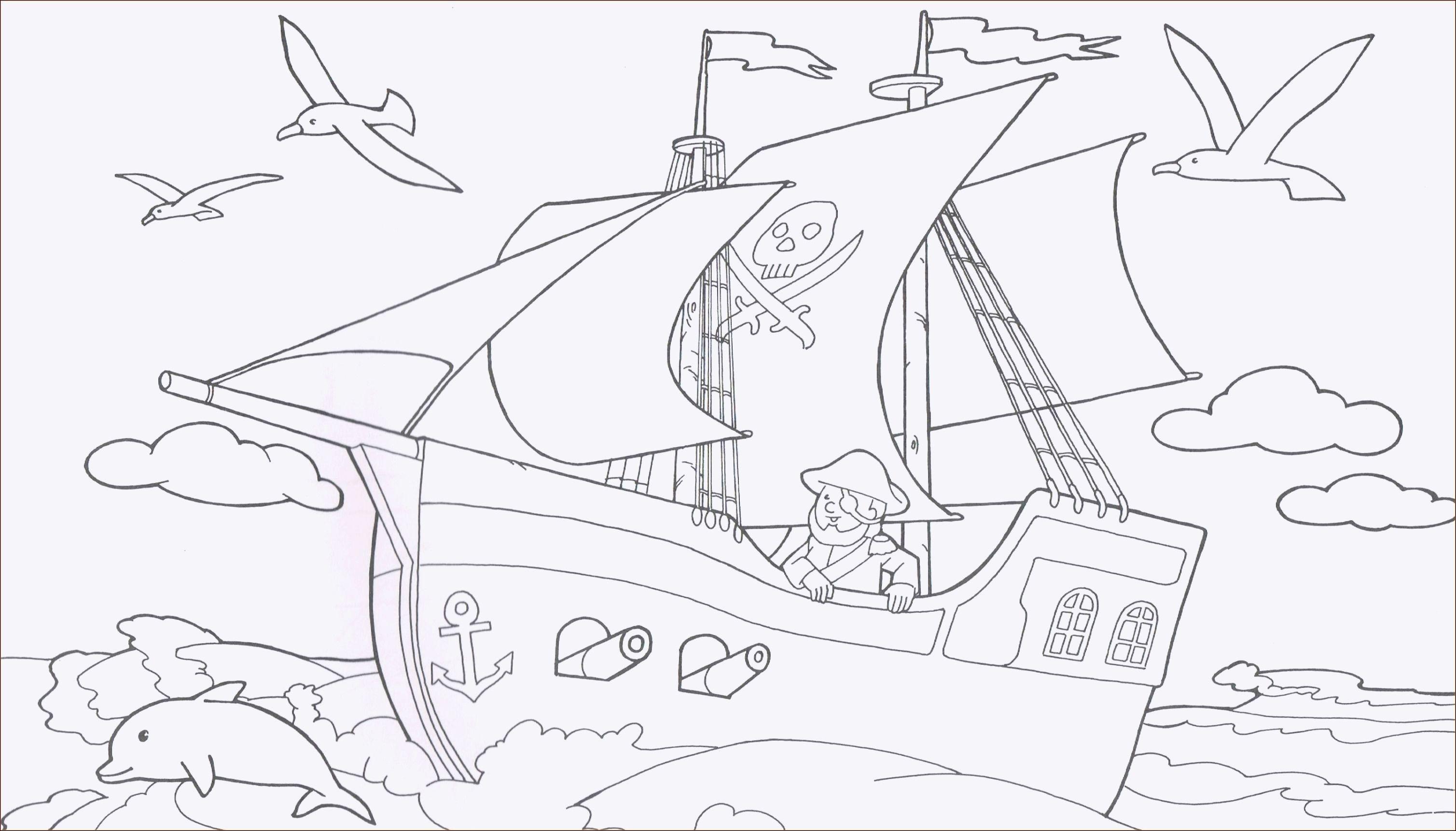 Ausmalbilder Piraten Das Beste Von Piratenschiff Zum Ausmalen Idees Fluch Malvorlagen Löwe Hero Design Stock