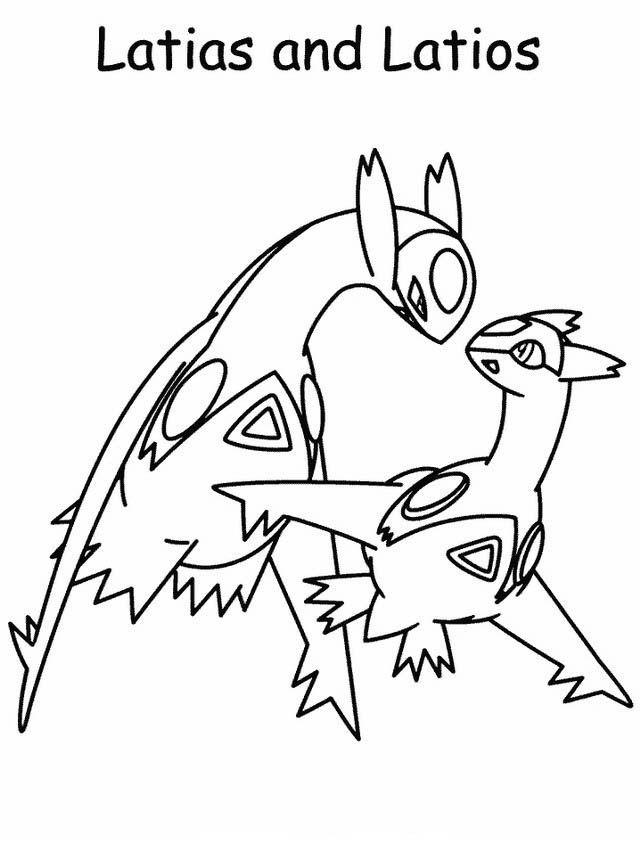 ausmalbilder pokemon dialga einzigartig celebi pokemon