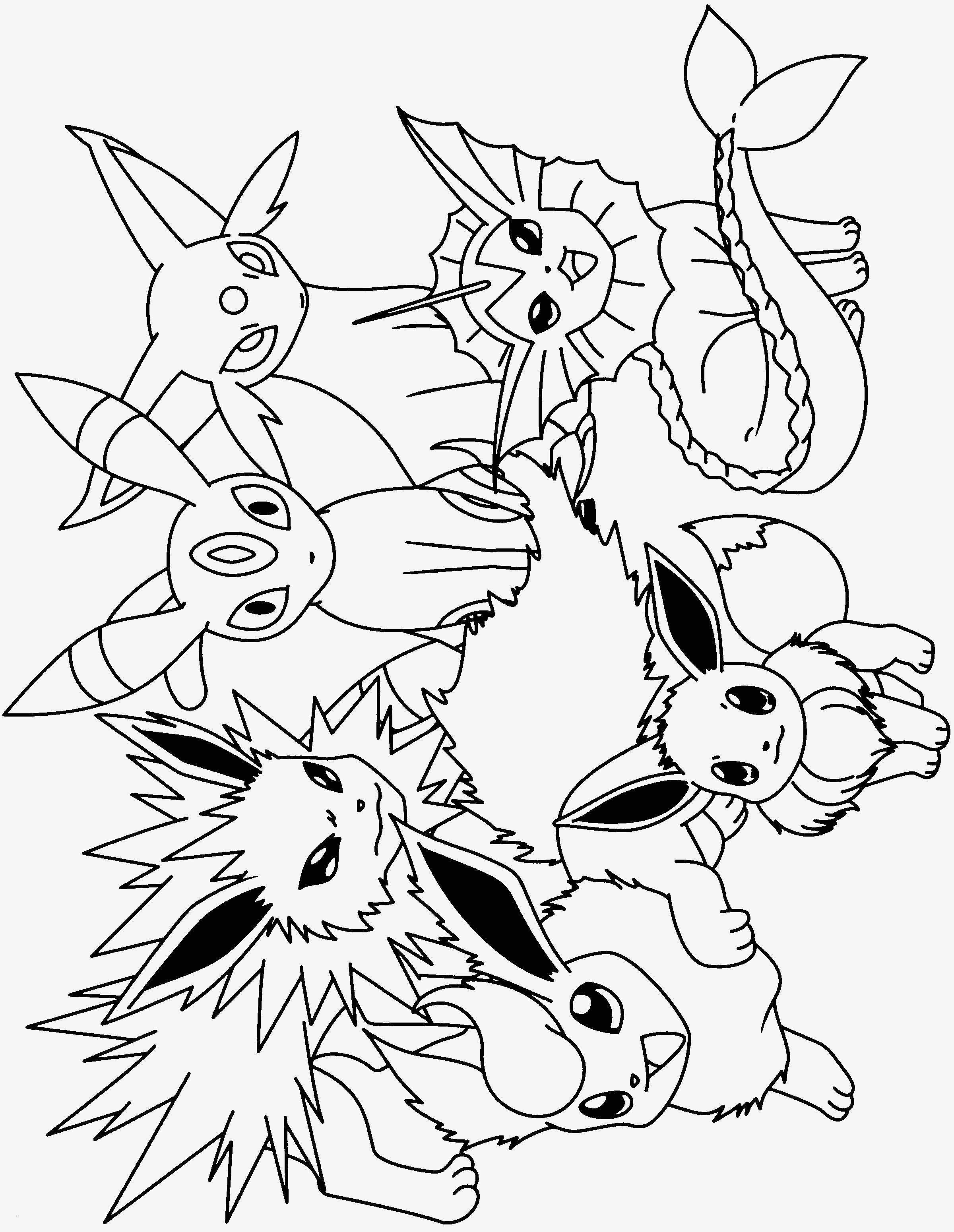 Ausmalbilder Pokemon Evoli Weiterentwicklung Genial 90 Inspirierend Pokemon Ausmalbilder Evoli Sammlung Bild