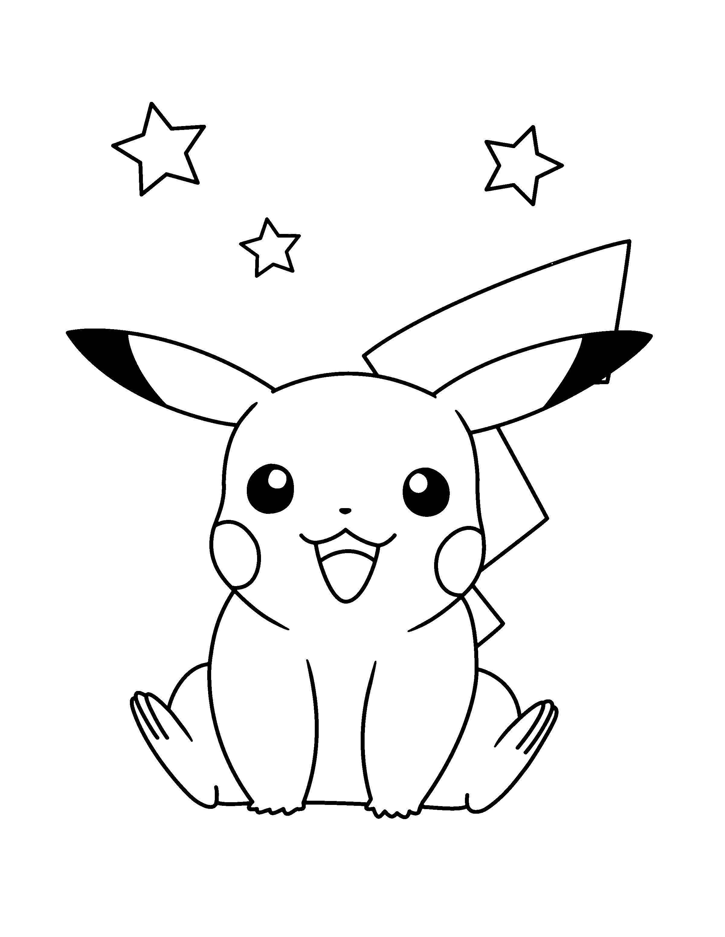 Ausmalbilder Pokemon Go Genial Pichu Coloring Pages Luxury Ausmalbilder Pokemon Pikachu Neu Stock