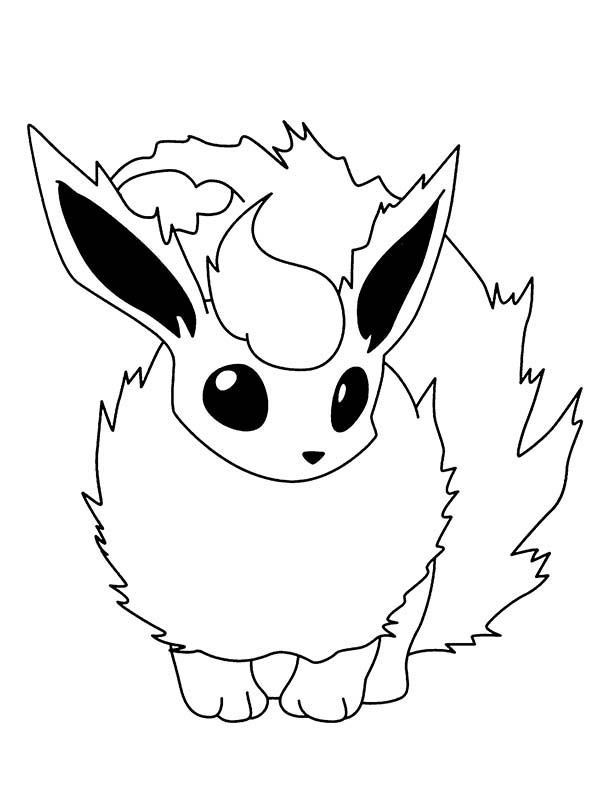 Ausmalbilder Pokemon Gx Neu Flareon Lineart Free On Ayoqq Cliparts Das Bild
