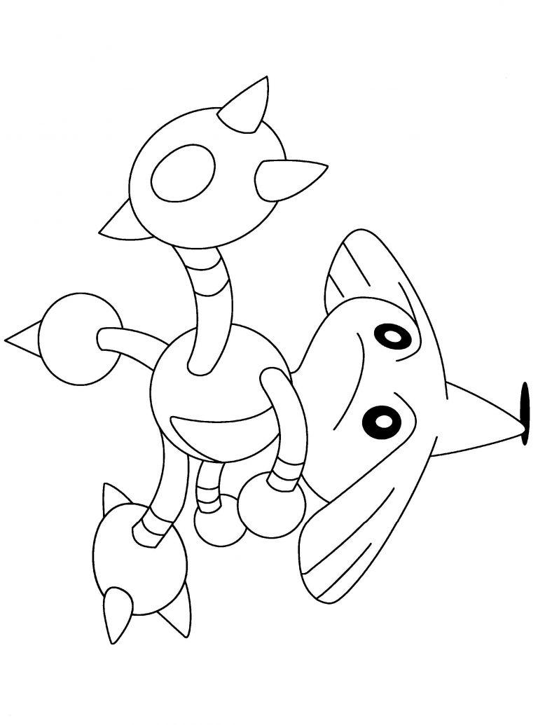 ausmalbilder pokemon lucario neu the best free rayquaza