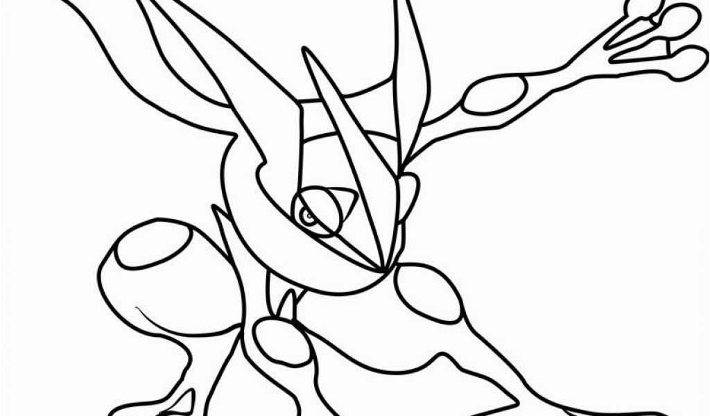 Ausmalbilder Pokemon Lucario Neu Pokemon Coloring Pages Printable Greninja Pokemon Sammlung