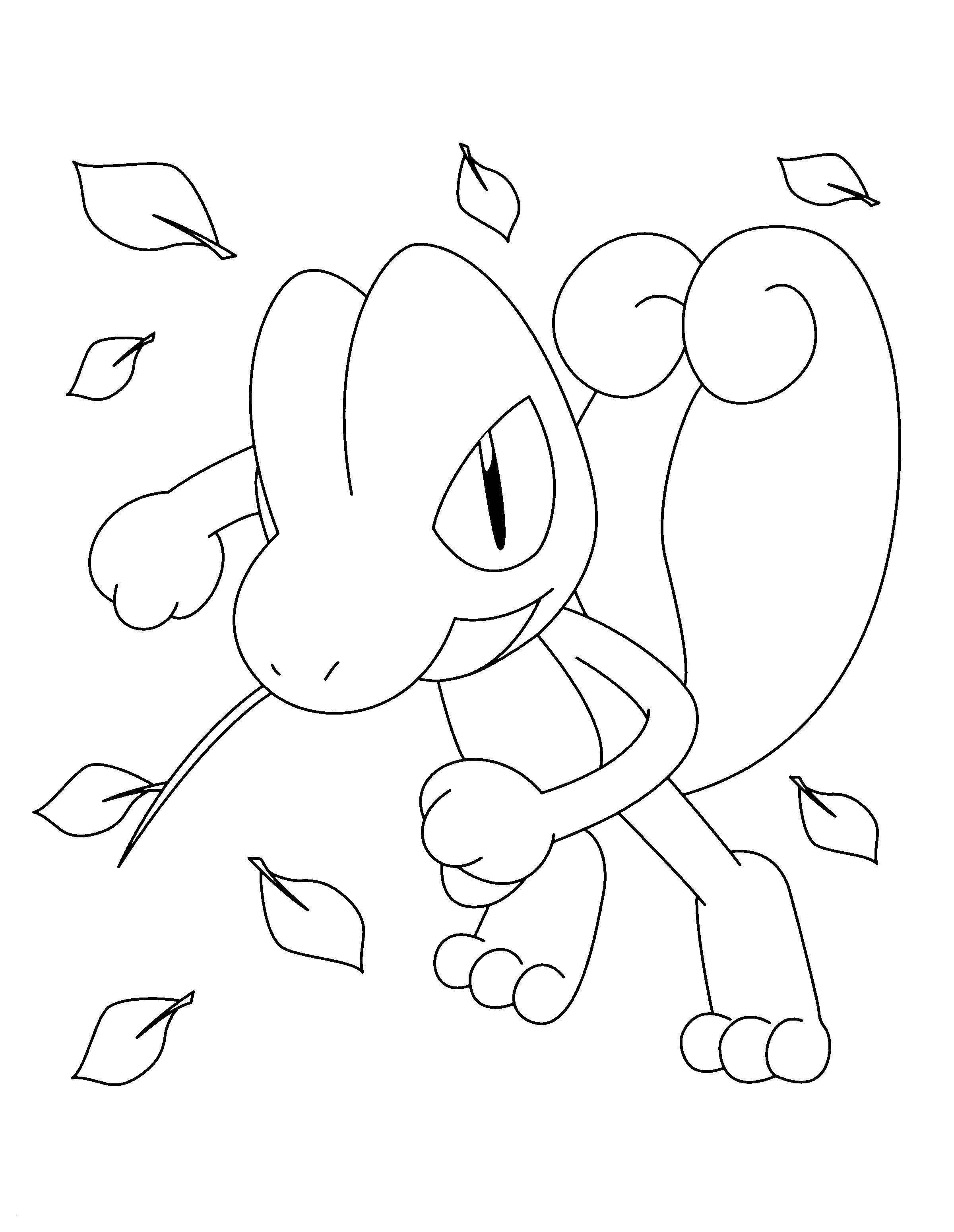 Pokemon Quajutsu Malvorlage