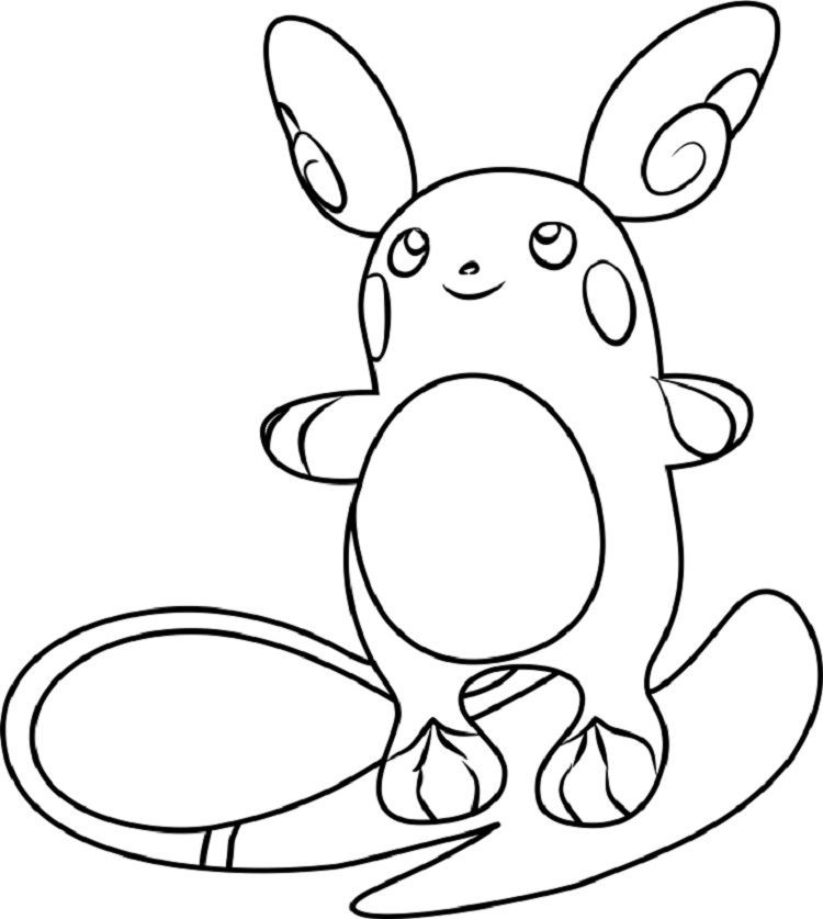 Ausmalbilder Pokemon Raichu Inspirierend Pokemon Coloring Pages Raichu Sammlung