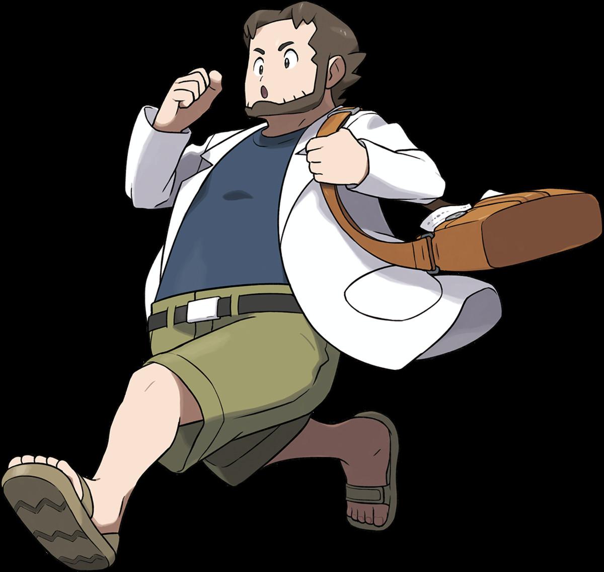 Ausmalbilder Pokemon Rayquaza Inspirierend Professor Birch Bulbapedia the Munity Driven Pokémon Sammlung