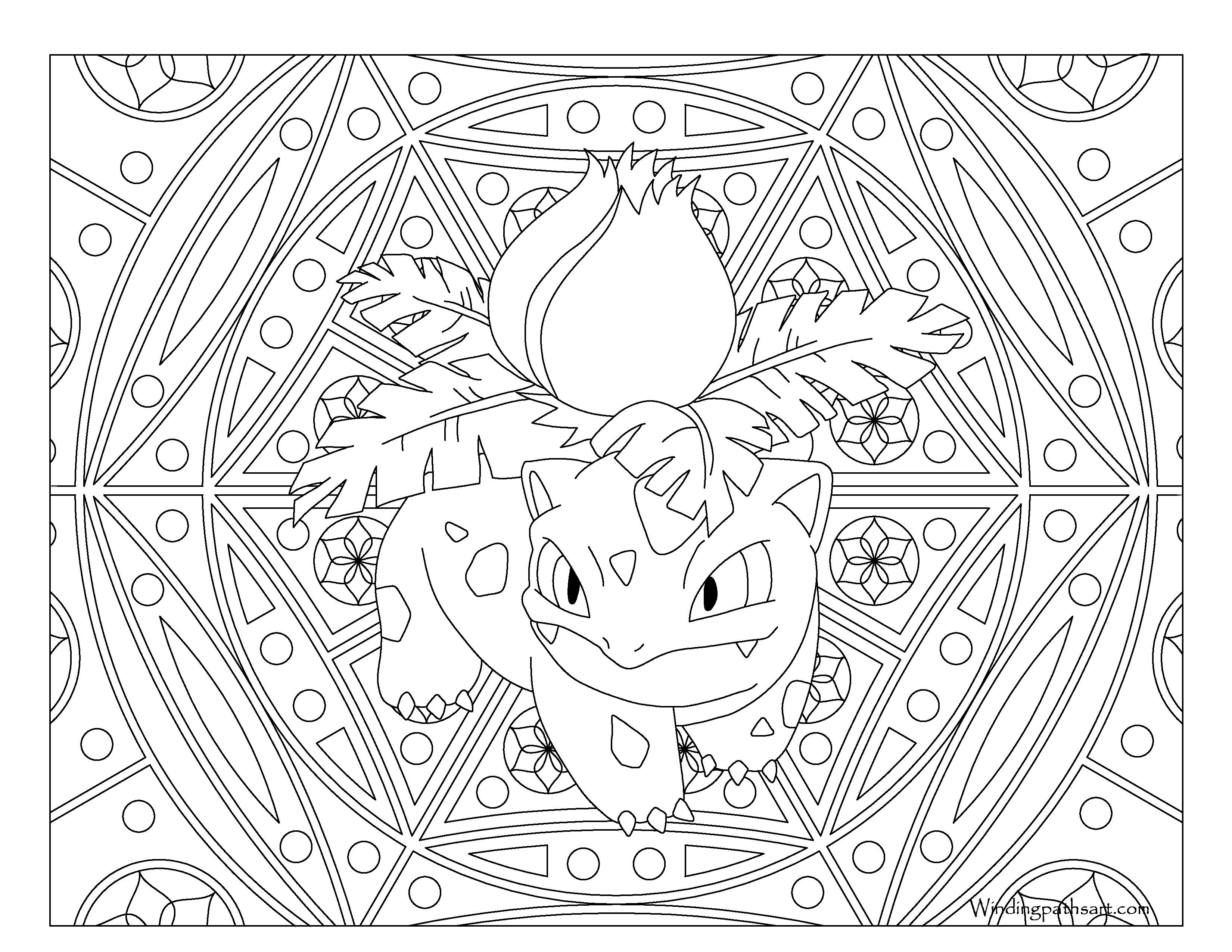 ausmalbilder pokemon solgaleo genial the best free ivysaur