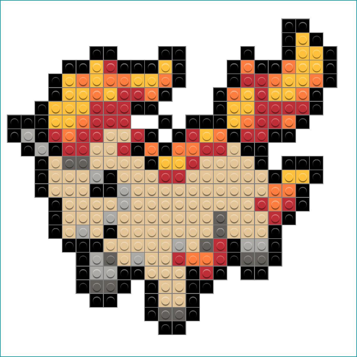 ausmalbilder pokemon solgaleo und lunala genial pixel art