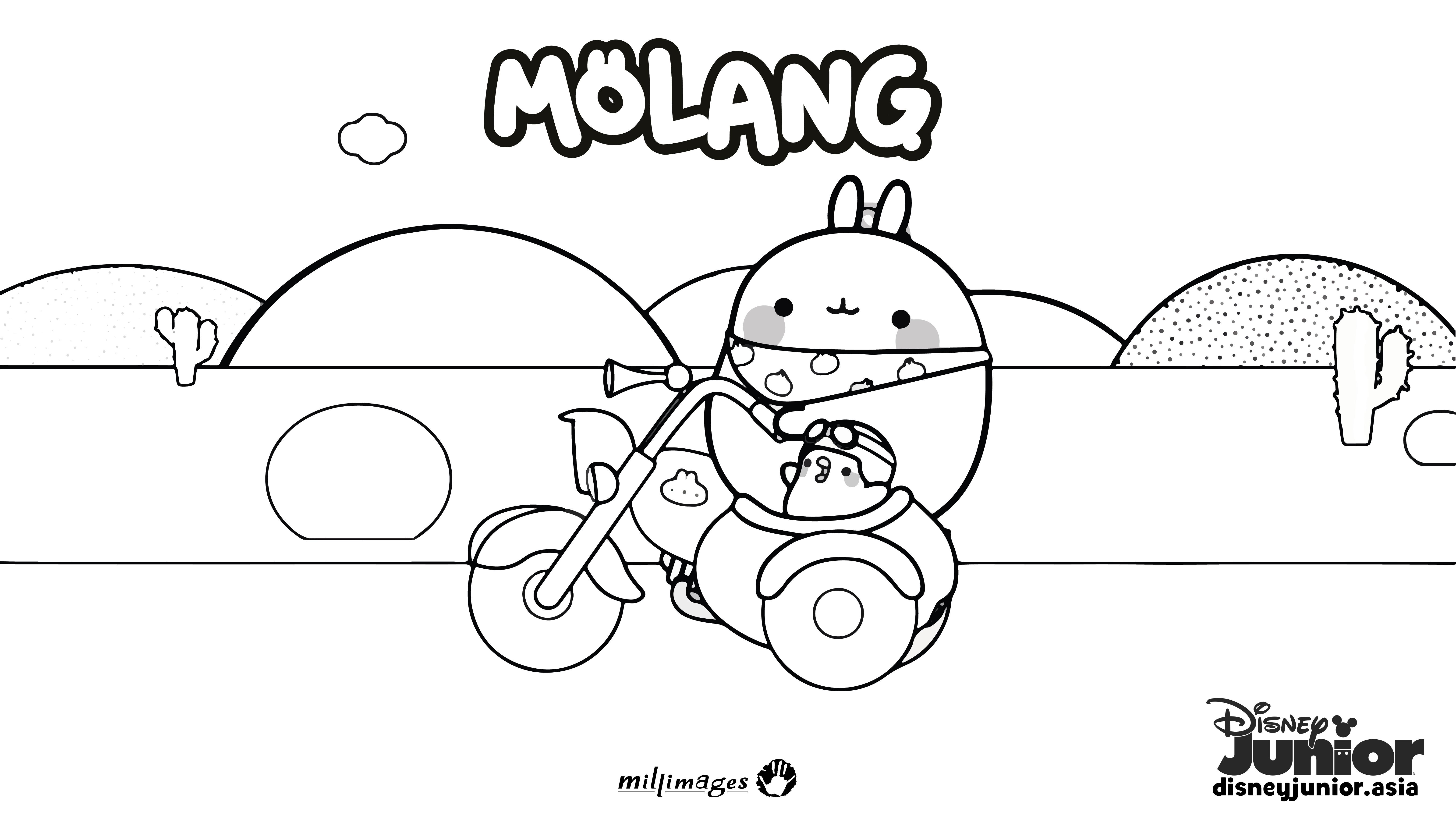 Ausmalbilder Pokemon Xy Neu Molang Colouring Page 2 Print these soon Das Bild