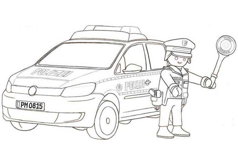ausmalbilder polizei inspirierend feuerwehrautos zum