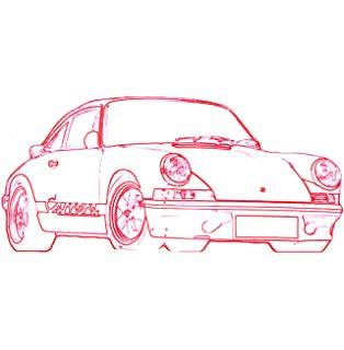 Ausmalbilder Porsche 911 Das Beste Von Porsche Drawing Easy Bilder
