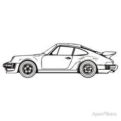 Ausmalbilder Porsche 911 Inspirierend 502 Best Car Art Images In 2019 Stock