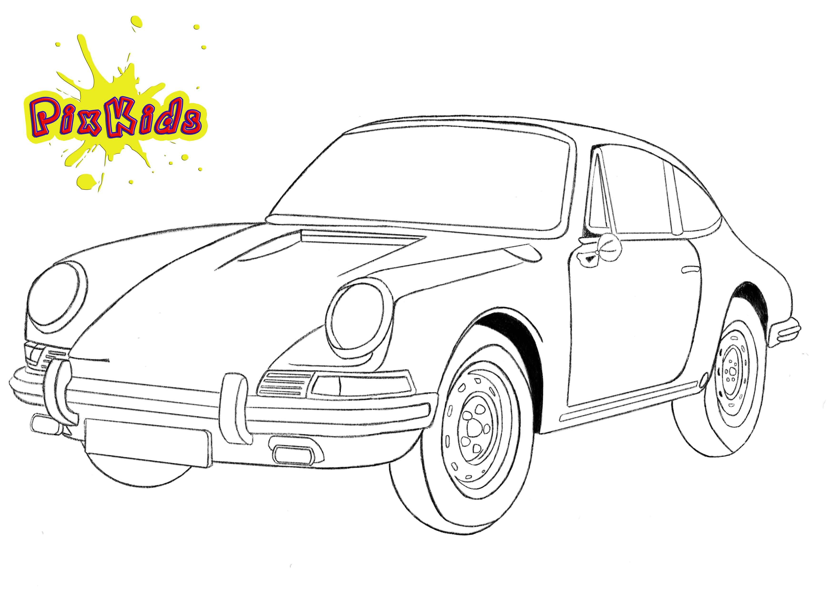 Ausmalbilder Porsche 911 Inspirierend Ausmalbilder Porsche 911 Malvorlage Porsche Panamera Turbo 1 Bild