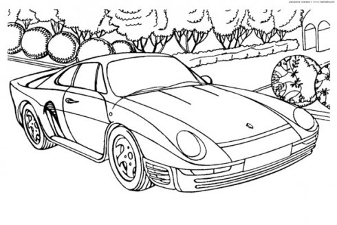 Ausmalbilder Porsche 911 Inspirierend Najlepsza Kolekcja] Kolorowanka Porsche Kolorowanki Do Druku Bild