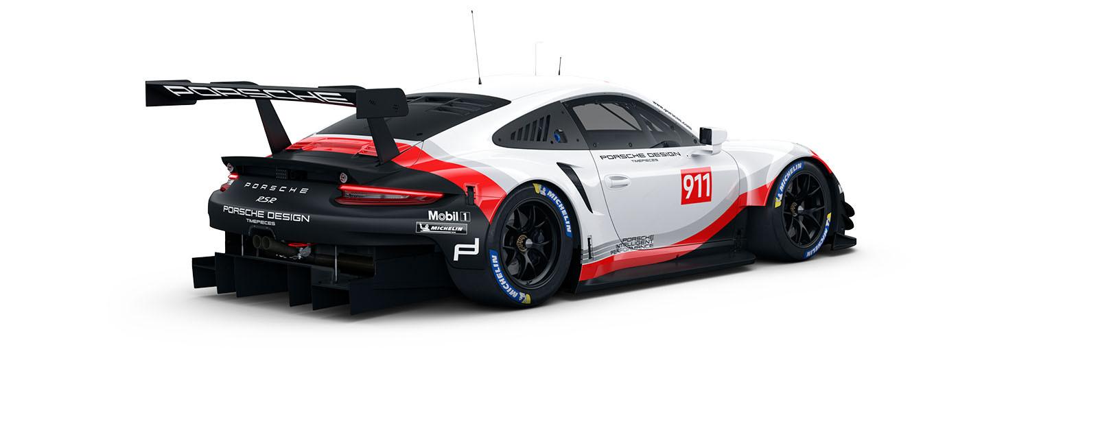 Porsche 911 RSR Porsche Great Britain