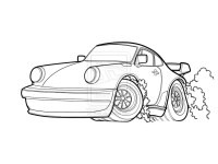 Ausmalbilder Porsche 911 Neu Porsche Malvorlage Das Bild
