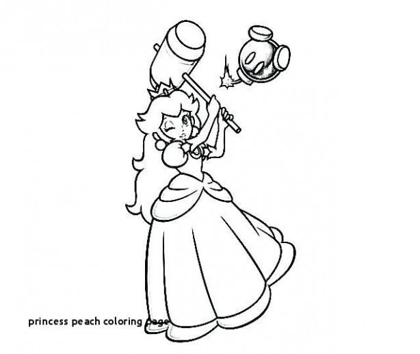 Ausmalbilder Prinzessin Frisch Coloring Pages Princess Peach Sammlung