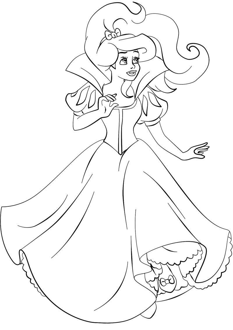 Ausmalbilder Prinzessin Neu Ausmalbild Arielle Bild Ausmalbilder Kostenlos Fotos