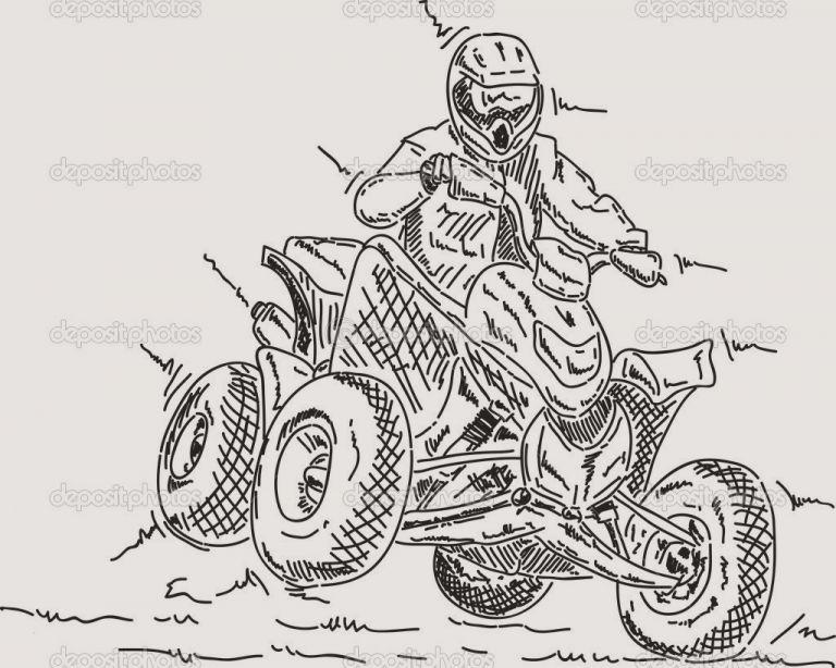 ausmalbilder quad kostenlos neu motorrad zum ausmalen