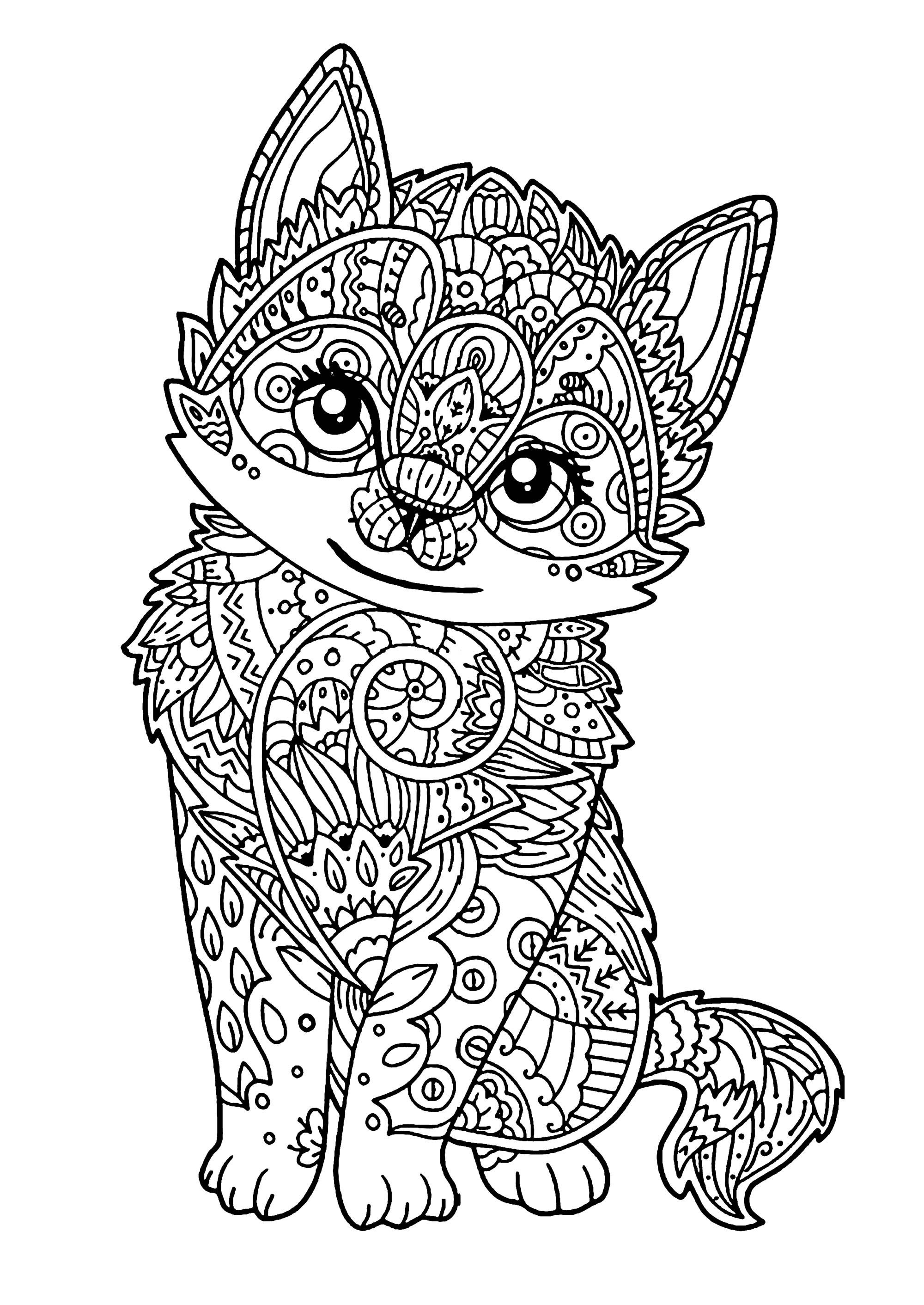Ausmalbilder Querflöte Einzigartig Cat Coloring Pages to Print Printable Worksheets and Activit Sammlung