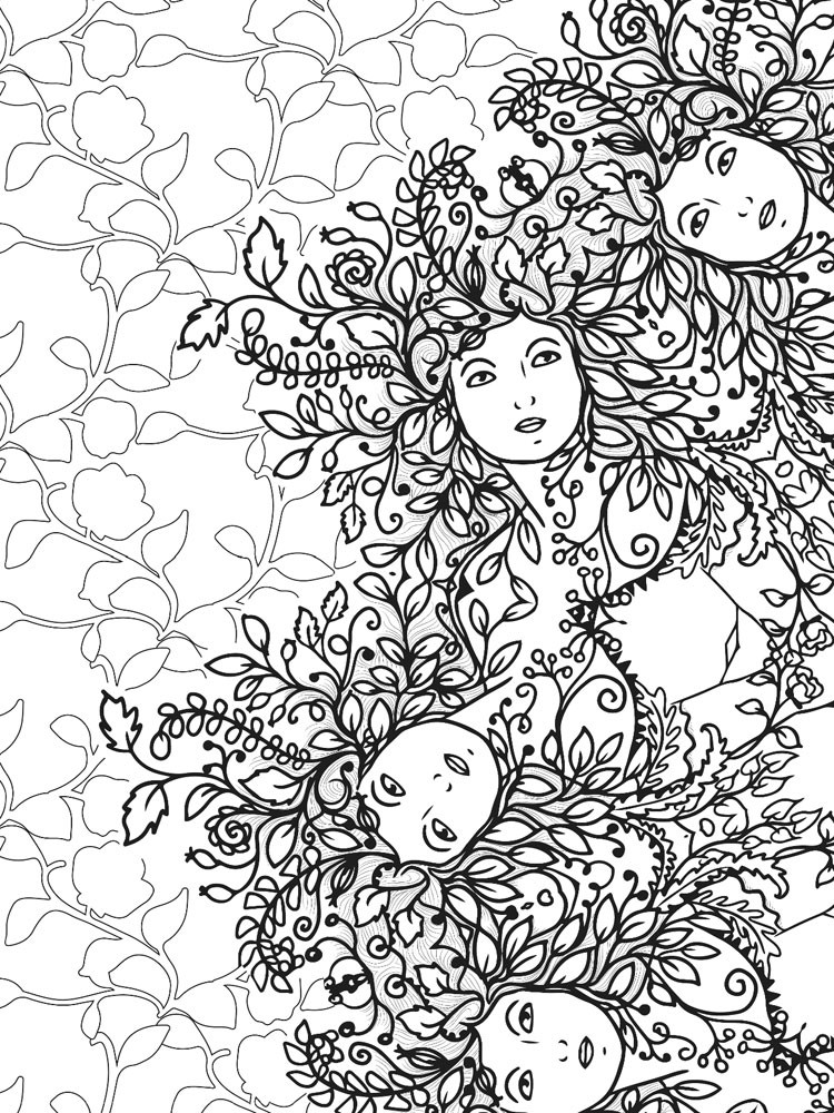 Ausmalbilder Querflöte Neu Antistress Coloring Pages for Adults Free Printable Antis Bilder