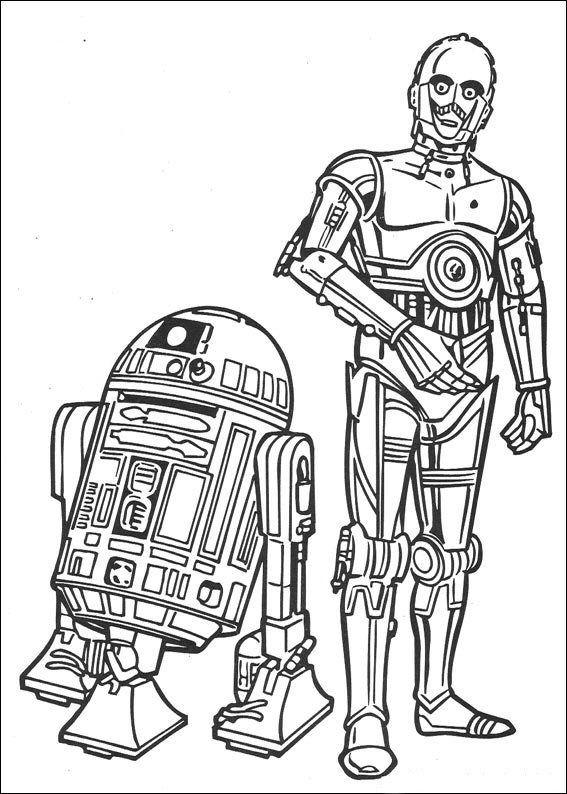 Ausmalbilder Roboter Einzigartig 67 Ausmalbilder Von Star Wars Auf Kids N Fun Auf Kids N Bild