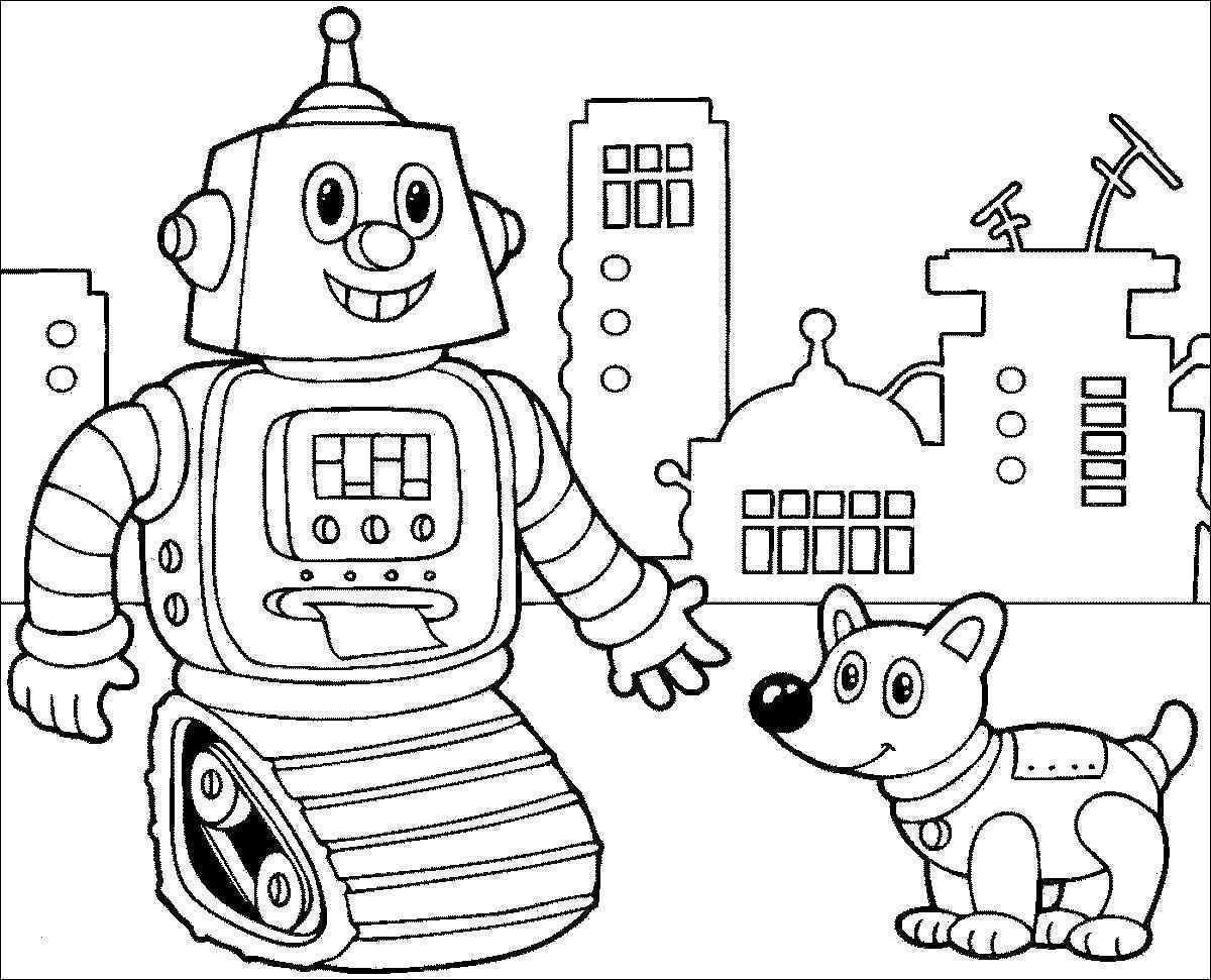 Ausmalbilder Roboter Inspirierend Pinocchio Malvorlagen Barden Bild