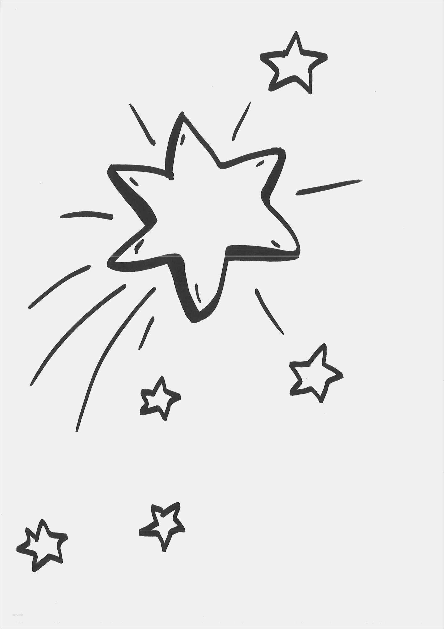 Ausmalbilder Sterne Inspirierend Sterne Vorlagen Kostenlos Frisch Ausmalbild Mond Neu Stern Vorlage Fotos