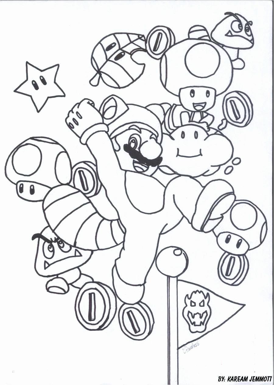 58 Inspirierend Ausmalbilder Super Mario Fotografieren ...
