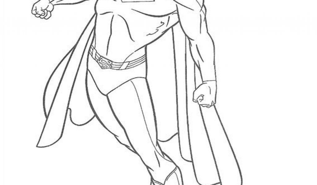 Ausmalbilder Superhelden Frisch Coloring Superman Best Ziemlich Superman Superhelden Malvorlage Bilder