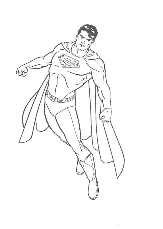 Ausmalbilder Superhelden Genial Coloring Superman Best Ziemlich Superman Superhelden Malvorlage Fotografieren
