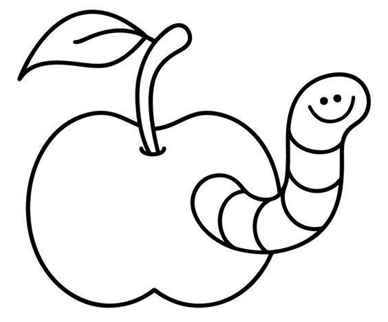 Ausmalbilder Tiere Kostenlos Das Beste Von Ausmalbild Tiere Kostenlose Malvorlage Wurm Im Apfel Kostenlos Stock