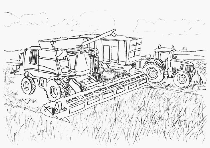 ausmalbilder traktor das beste von traktor ausmalbilder