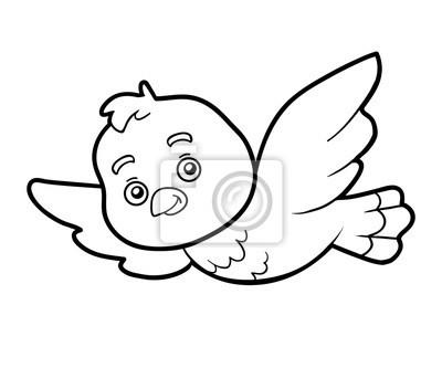 Ausmalbilder Vogel Frisch Obraz Kolorowanka Farbowanie Strony Mysz Na Wymiar • Czarny Das Bild