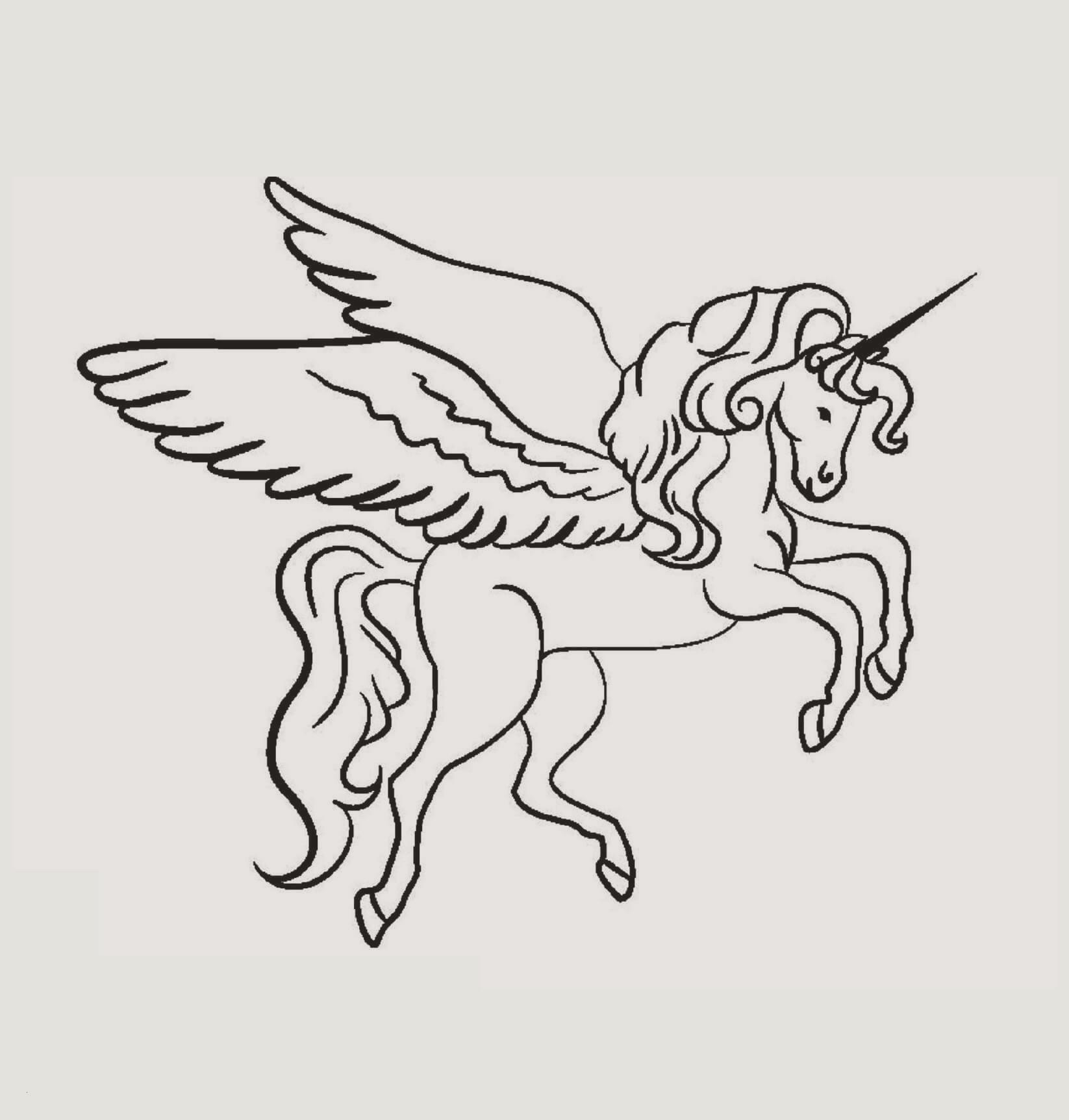 Ausmalbilder Zum Ausdrucken Einhorn Das Beste Von 96 Ausmalbilder Pegasus Einhorn Stock