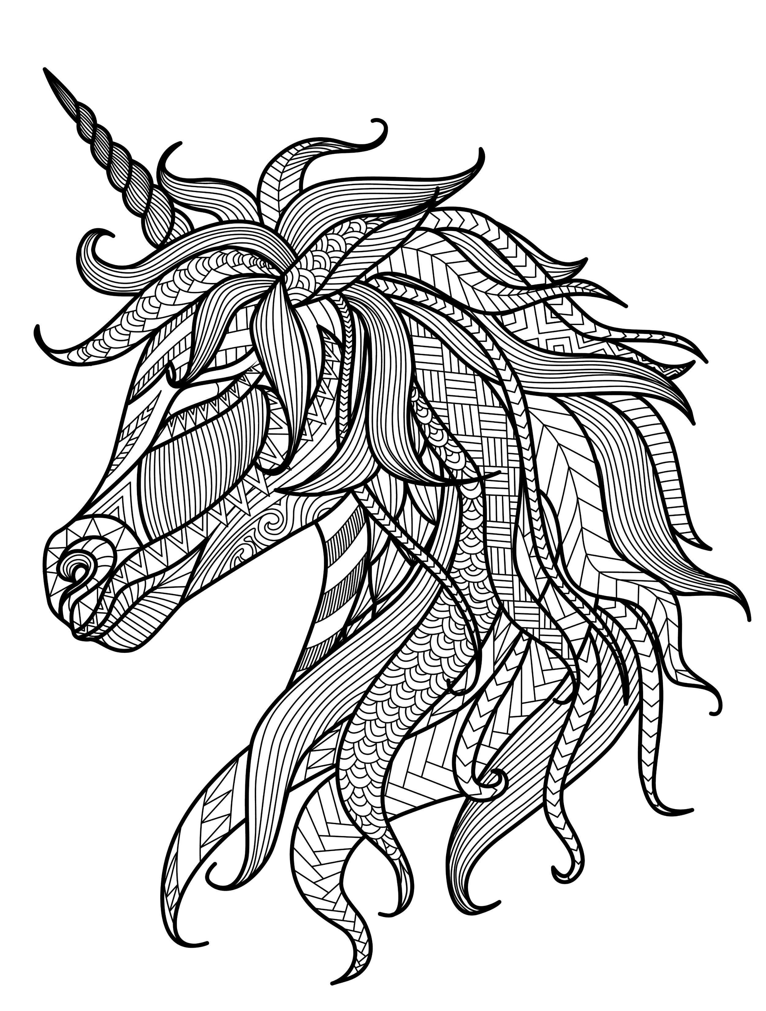 Ausmalbilder Zum Ausdrucken Einhorn Einzigartig Ausmalbilder Einhorn Erwachsene Malvorlagen Pegasus Colorbook Bild