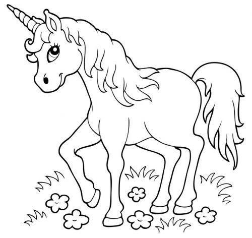 Ausmalbilder Zum Ausdrucken Einhorn Genial 45 Unicorn Ausmalbilder Zum Drucken Fotos