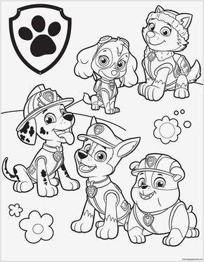Disney Ausmalbilder Online Ausmalen Das Beste Von Paw Patrol Malvorlagen Spannende Coloring Bilder Paw Patrol Bild
