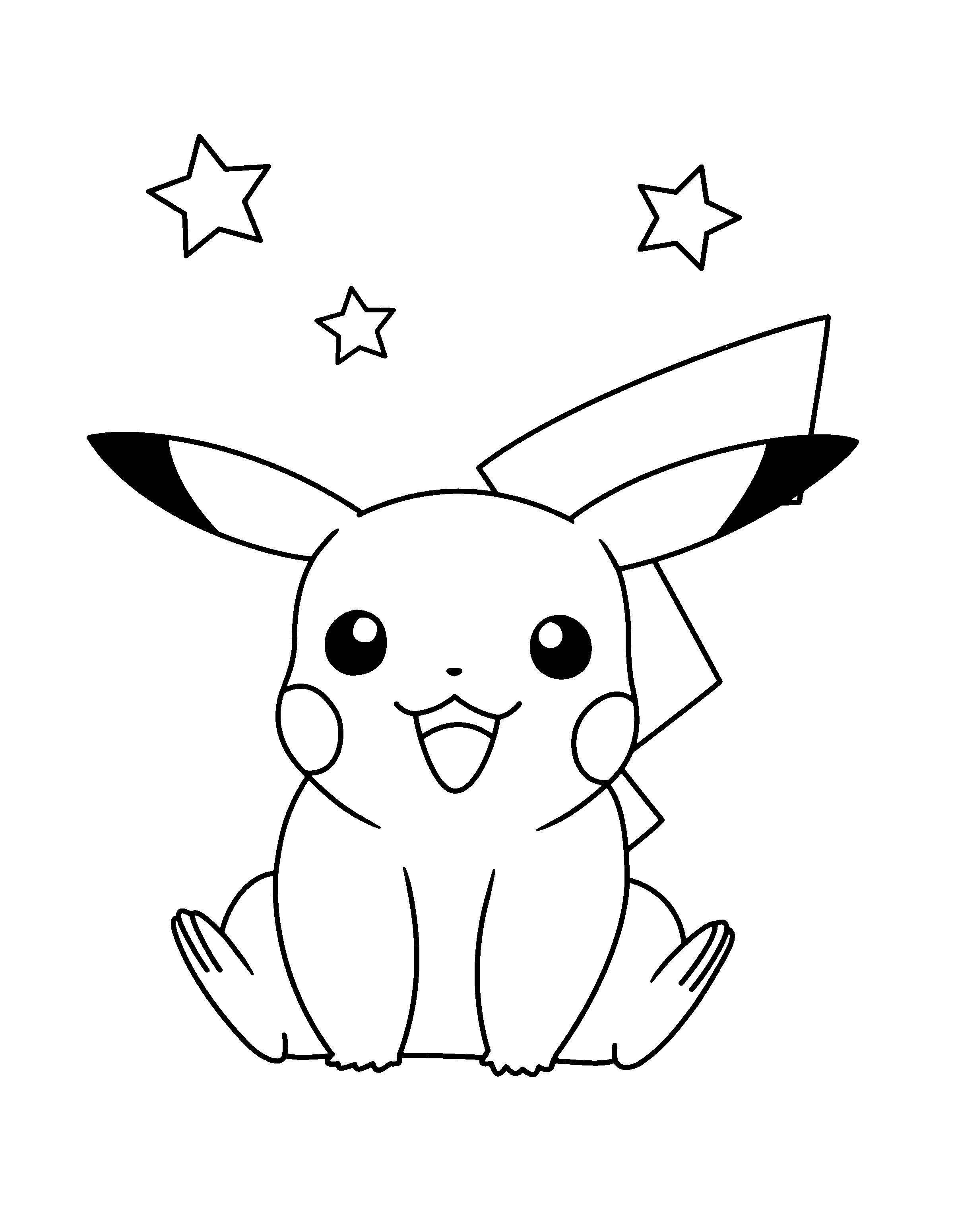 Malvorlagen Pokemon Pikachu Einzigartig Pichu Coloring Pages Luxury Ausmalbilder Pokemon Pikachu Neu Bilder