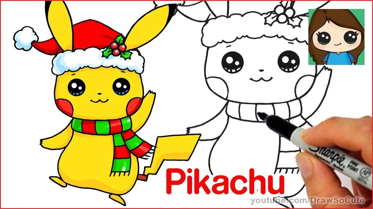 Malvorlagen Pokemon Pikachu Inspirierend How to Draw Mal How to Draw Christmas Pikachu Easy Fotografieren