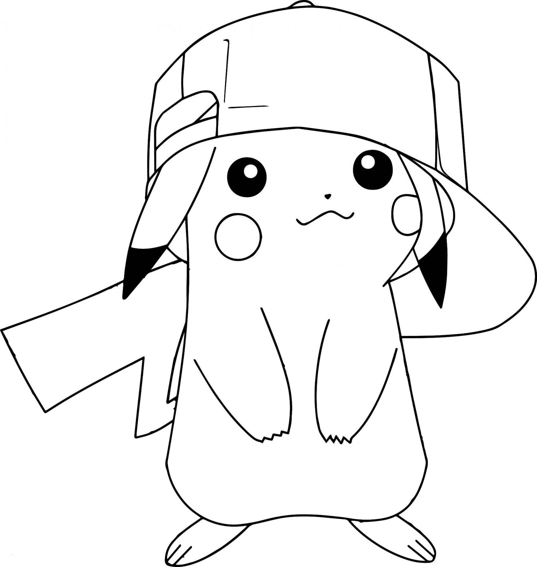 Malvorlagen Von Pokemon Einzigartig Pikachu Coloring Pages Galerie