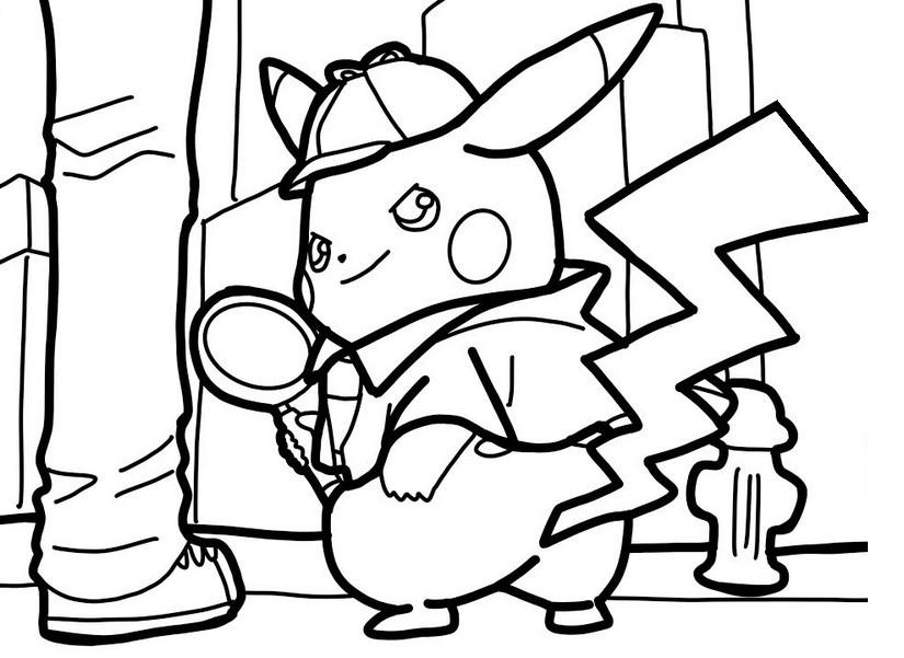 Pokemon Ausmalbilder Wolwerock Das Beste Von Ausmalbilder Detektiv Pikachu Fotos