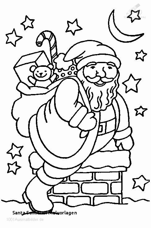 1001 Ausmalbilder Weihnachten Einzigartig Weihnachtsmann Mit Schlitten Und Rentieren Neu Ausmalbilder Bild