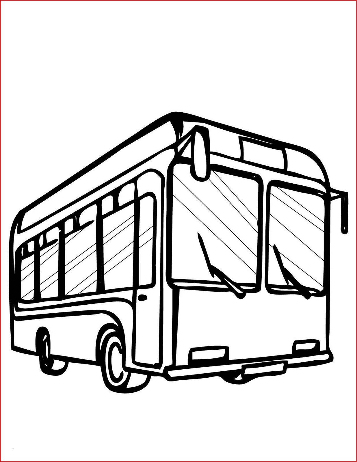 Bus Drawing Malvorlagen Fur Kinder Ausmalbilder Bus